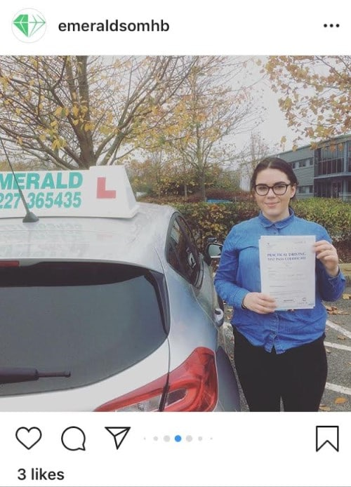 Driving Lessons Herne Bay Kent Emerald School of Motoring