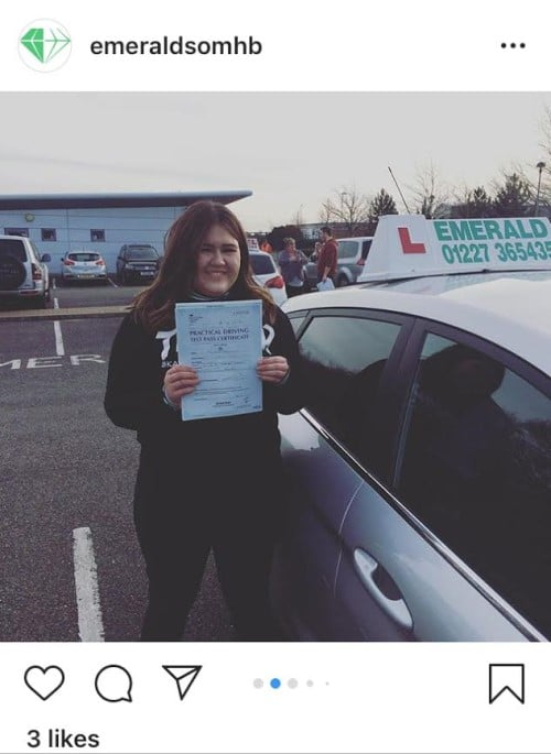 Driving Lessons in Canterbury Kent Emerald School of Motoring